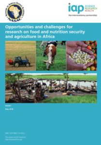Opportunities and challenges for researchon food and nutrition security andagriculture in Africa